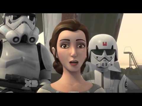 Princess Leia arrives on Lothal