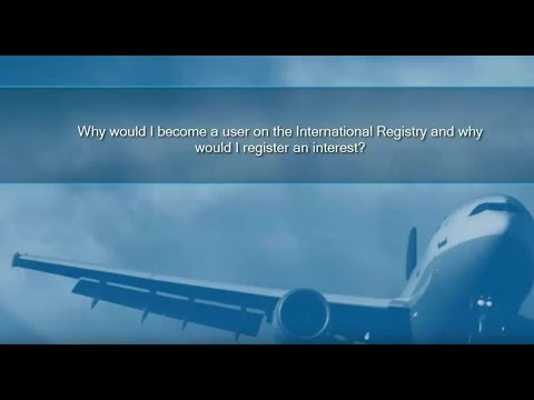 Welcome to the International Registry 2018