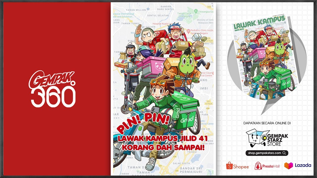 Lawak Kampus Jilid 41 | Official Comic Trailer