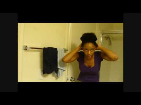 2 Minute Natural Hair Style for Daily Wear