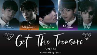 SHINee (샤이니) (シャイニー) Get The Treasure - Kan/Rom/Eng Lyrics (…