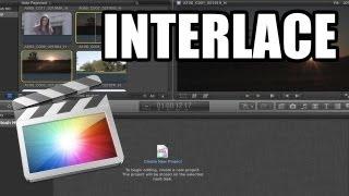Final Cut Pro X - #38: Interlace y de-interlace