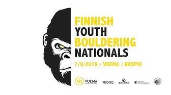 Finnish Youth Bouldering Nationals, 7.9.2019 / Voema / Kuopio / Finland