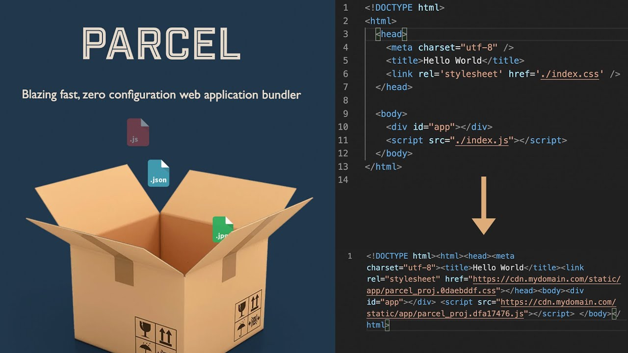 Why you should be using Parcel.js for React, Sass, CSS, Vue, and more -  YouTube