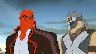 Марвел   Мстители: Секретные войны   Серия 21 Сезон 4 - Вибраниумный берег