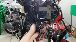 Kiểm tra lỗi xe HONDA bằng máy MOTOSCAN 6.3