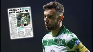 Man Utd handed Bruno Fernandes transfer boost with player set to miss next Sporting match- transf...