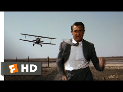 North by Northwest (1959) - The Crop Duster Scene (4/10) | Movieclips