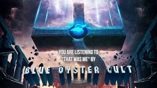 """Blue Öyster Cult – """"That Was Me"""" – Official Audio"""