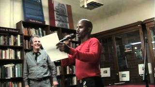 "DEE ALLEN READS HIS POEM ""DISOBEY"""