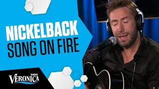 Nickelback - Song On Fire (Acoustic) // Live @Radio Veronica 25-05-2017