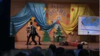 Мерри Попинс мисс осень-инсценация песни(клип)Мери Попинс