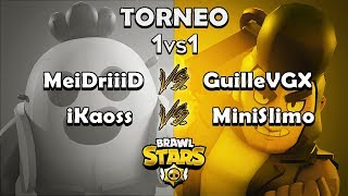 MeiDriiiD VS GuilleVGX | iKaoss VS MiniSlimo | OCTAVOS DE FINAL TORNEO 1VS1