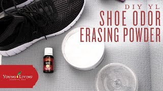 DIY Shoe Odor Erasing Powder with Young Living Essential Oils