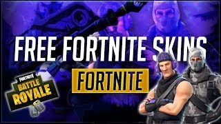 FORTNITE FREE SKINS! TWITCH PRIME SKINS!