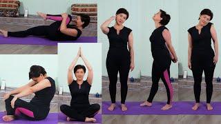 Йога для красоты и молодости 9 упражнений против старения 45