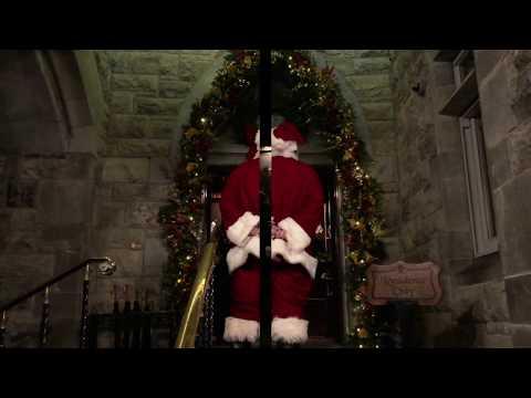 Santa Claus Vists Ashford Castle in Ireland