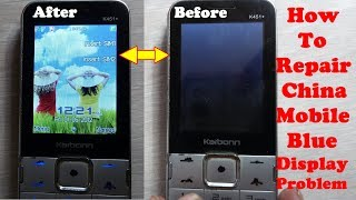 Repair China Mobile blue display Hang & Dead Problem How To Fix In Software Or Hardware Solution