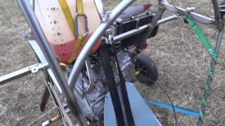 Quad paramotor engine Honda Silver wing aircraft conversion