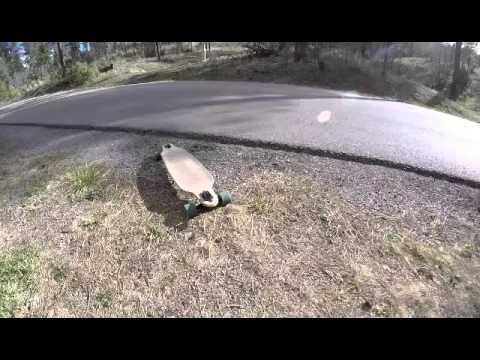Lonboarding. Ruidoso New Mexico.