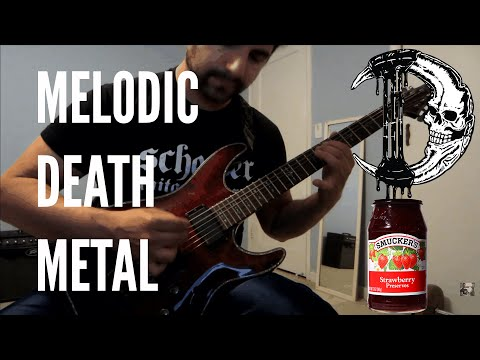 DEADTIDE - New Melodic Death Metal 2017/2016 Song #3 [Instrumental Preview]+FREE MP3!