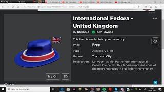 ITEM How to get International Fedora United Kingdom
