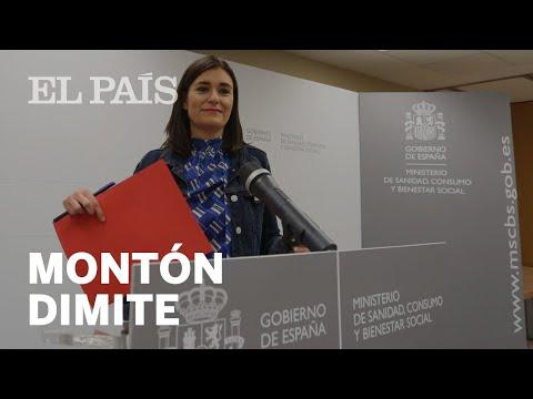 CASO MÁSTER | Así fue la DIMISIÓN de la ministra Montón