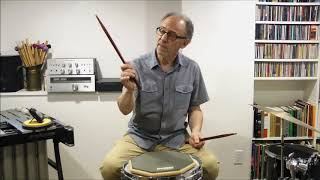 Teaching Double Strokes for Snare Drum, Part 1