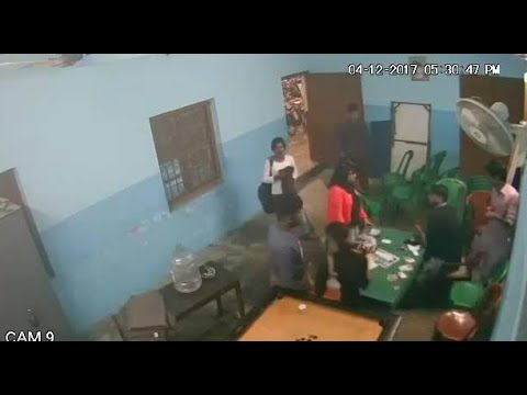 TMCP General Secretary thrashes a girl in union room