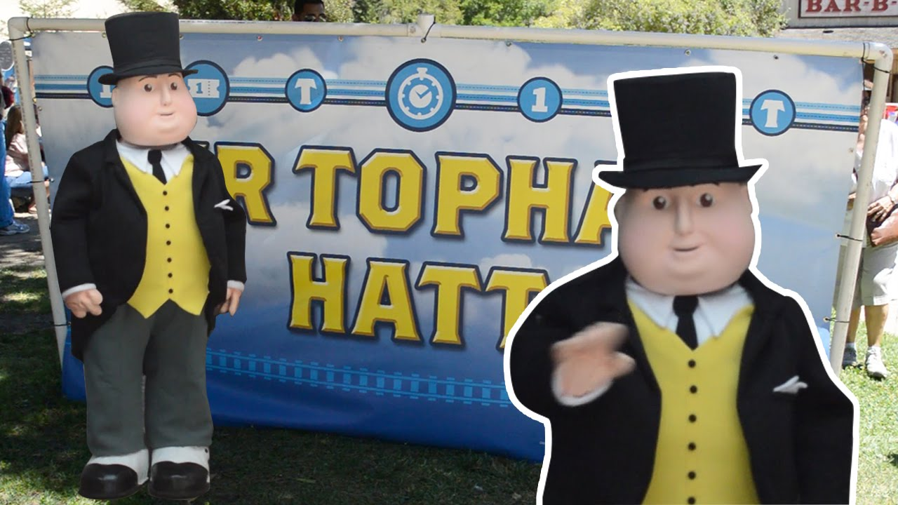 Day Out With Thomas 2014 Sir Topham Hatt Live Irl The Fat