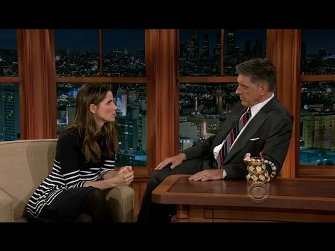 Late Late Show with Craig Ferguson 10/26/2012 Amanda Peet, John Cho