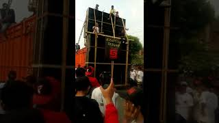 Sriwijaya Karnaval Bersih Desa Karanganyar. Poncokusumo