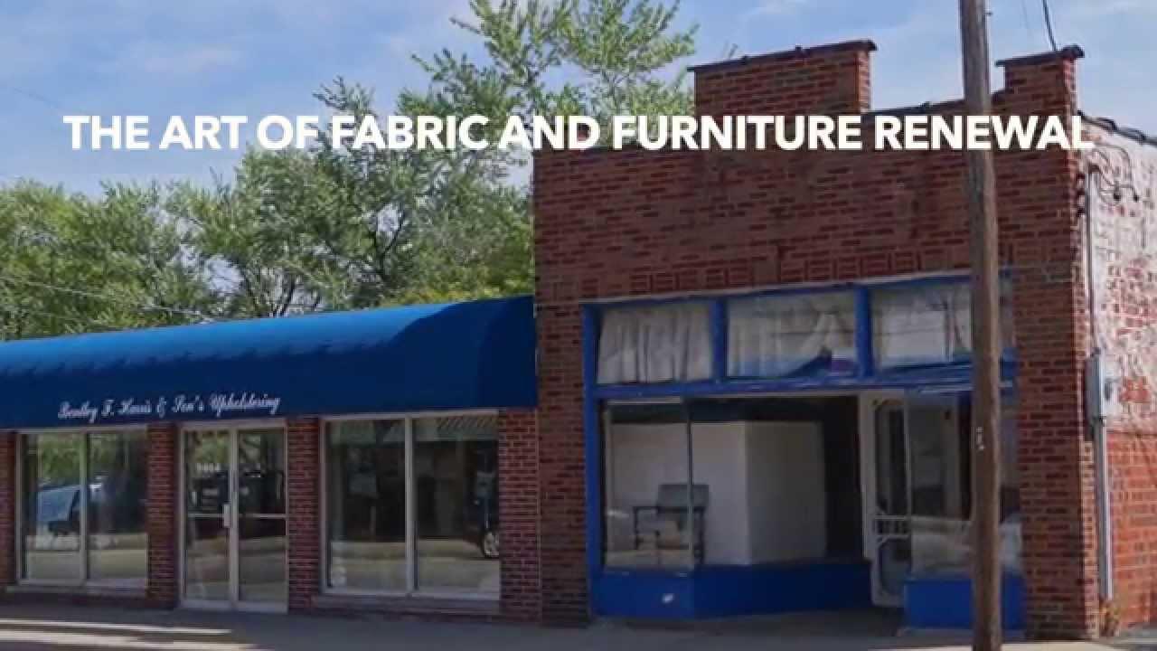 Bentley F Harris Upholstery St Louis Mo Youtube