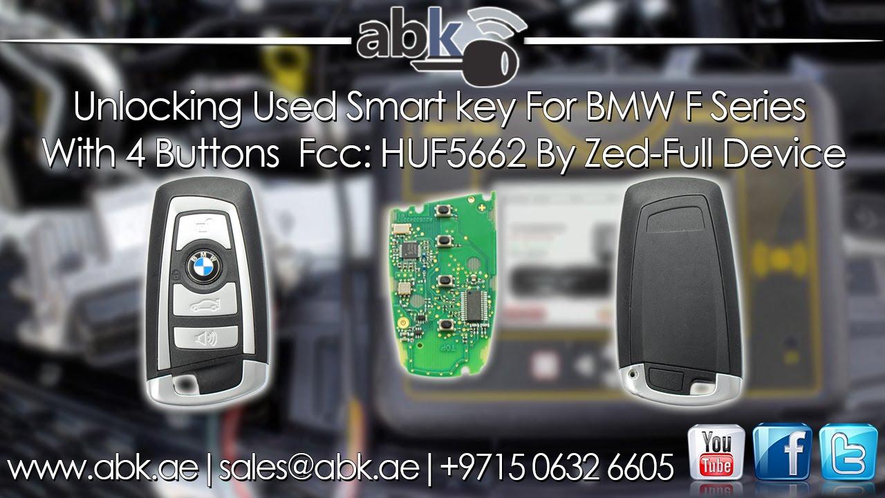 Quot Www Abkeys Com Quot Unlocking Used Smart Key For Bmw F Series