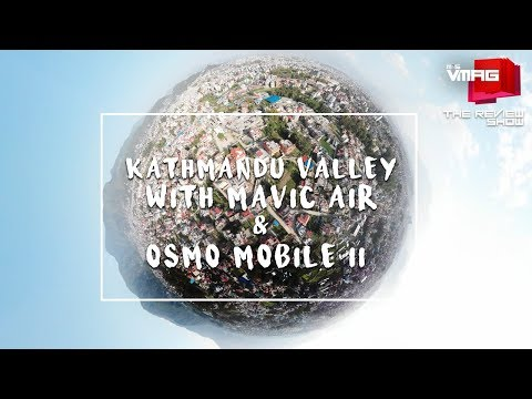 Kathmandu Valley with a Drone and a Gimbal!