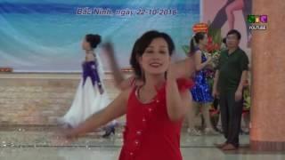 Điệu nhảy Chachacha CLB khiêu vũ Bình minh TP Bắc ninh
