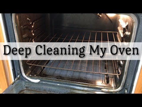 Deep Cleaning My Oven