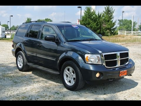 2007 Dodge Durango Slt For Sale Dayton Troy Piqua Sidney
