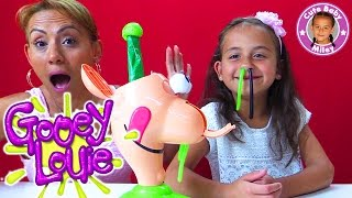 POPEL ALARM GOOEY LOUIE | Spiel mit ekligem grünem Nasen Popel! | CuteBabyMiley
