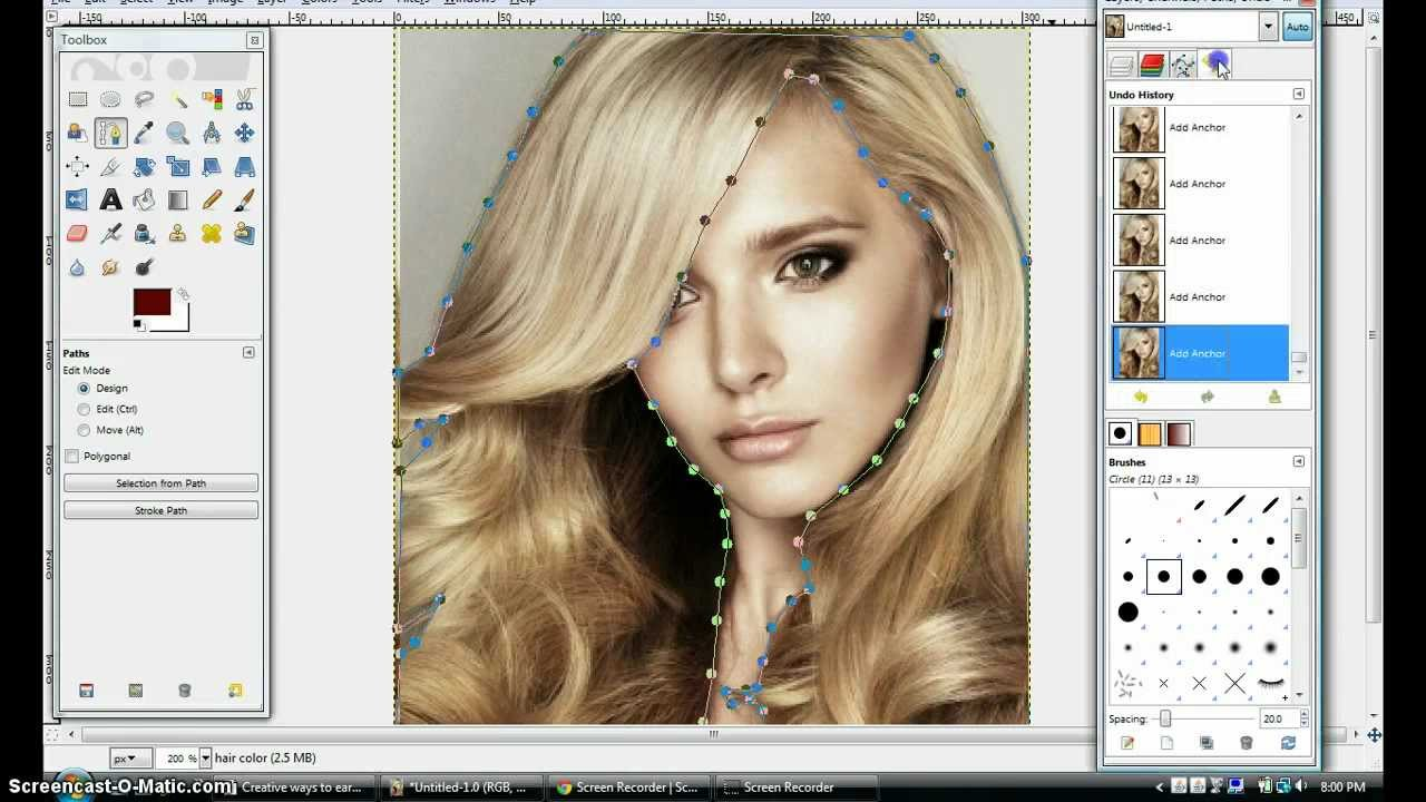free photo editor change hair style free hairstyle changer software hair 5409