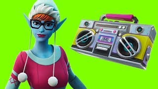NEW Boombox & Sugarplum Skin!! #TEAMLIVE Fortnite
