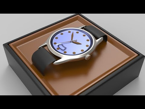 Wristwatch Blender 2.8 Modeling