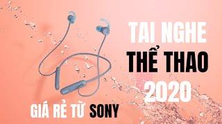 Trên tay tai nghe không dây Sony WI SP510 : Thiết kế bắt mắt, chống nước, pin trâu