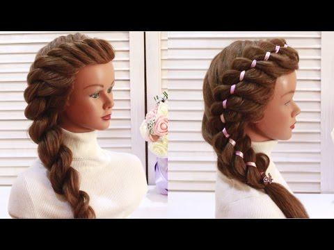 💗2 Простые Прически на Выпускной 💗в Садик,Последний звонок.💗 2 Easy Prom Hairstyles