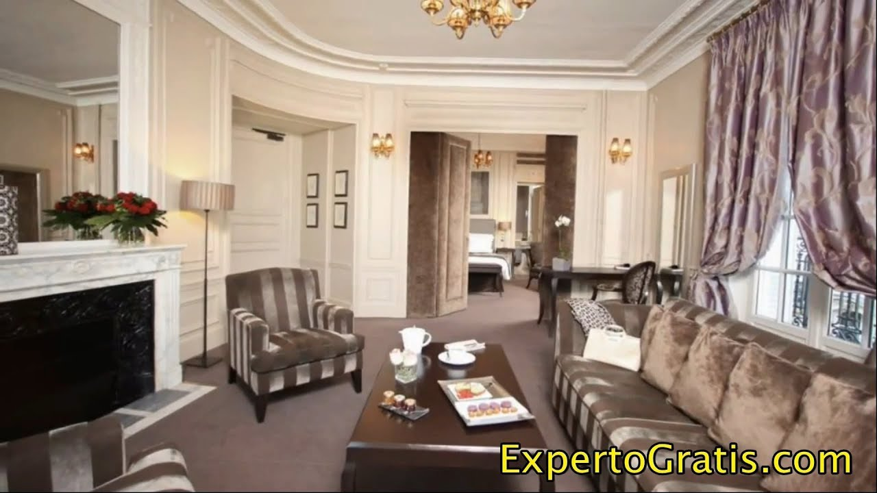 Hotel Champs Elysees Plaza Paris France 5 Star Hotel Youtube