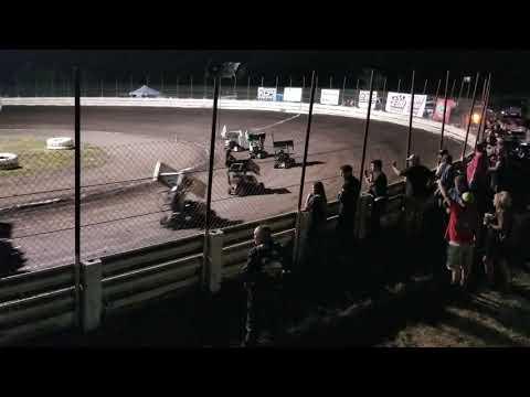 English Creek Speedway 250 Wing Kart Heat 1  08/06/18