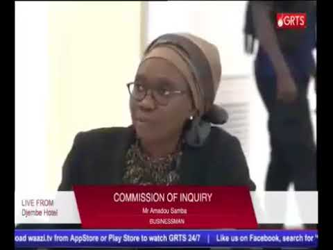 The 52ND Sitting Of The Gambia Commission Of Enquiry