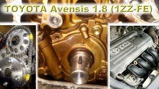 TOYOTA Avensis 1.8 (1ZZ-FE) - Капиталим японскую легенду!
