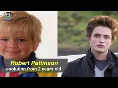 Robert Pattinson - from 2 to 31 years old