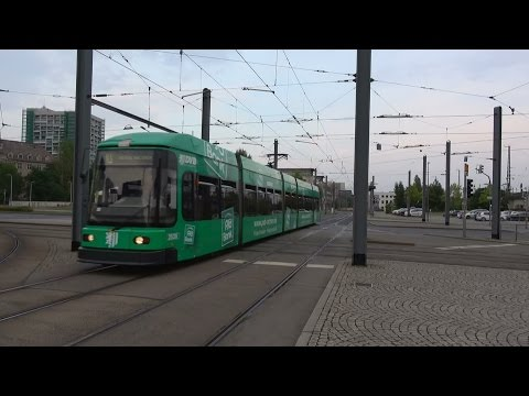 DVB DWA NGT6DD-ER 2539 PSD Bank reclametram tramhalte Dresden Hbf | tram 10